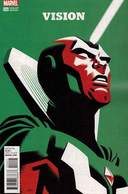 The Vision Vol. 3 (Variant Cover) (Comic Book) #4