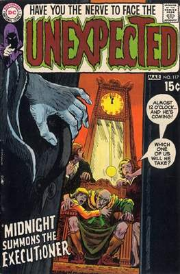 The Unexpected (Comic Book) #117