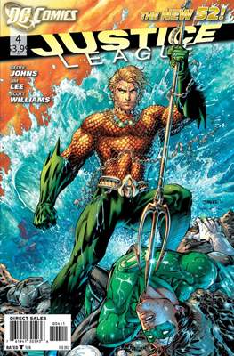 Justice League Vol. 2 (2011-2016) #4