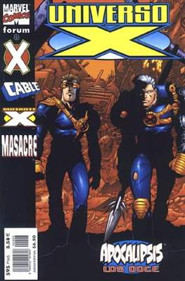 Universo-X (2000-2001) (Grapa. 17x26. 72/80 páginas. Color. (2000-2001)) #8