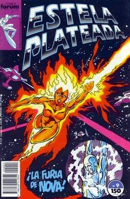 Estela Plateada Vol. 1 / Marvel Two-In-One: Estela Plateada & Quasar (1989-1991) (Grapa 32-64 pp) #9
