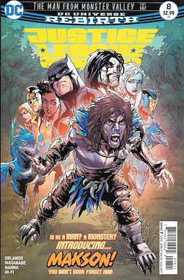 Justice League of America vol. 5 (2017-2018) (Grapa) #8