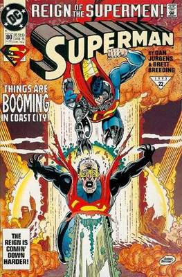 Superman Vol. 2 (1987-2006) (Comic Book) #80