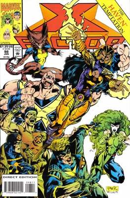 X-Factor Vol. 1 (1986-1998) (Comic Book) #98