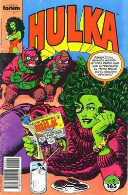Hulka vol. 1 (1990-1992) (Grapa 32 páginas) #2