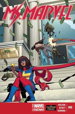 Ms. Marvel (Vol. 3 2014-2015) (Grapa) #6