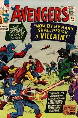 The Avengers Vol. 1 (1963-1996) (Comic Book) #15