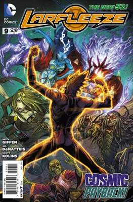 Larfleeze (2013-2014). The New 52 (Grapa) #9
