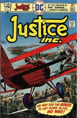 Justice inc. Vol 1 (Comic Book. 1975) #4