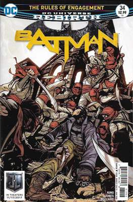 Batman Vol. 3 (2016-) (Comic Book) #34