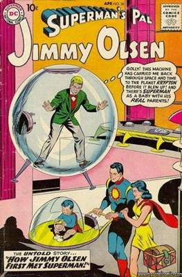 Superman's Pal, Jimmy Olsen / The Superman Family (Comic Book) #36