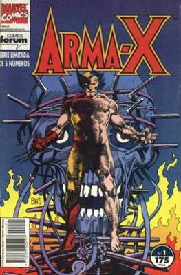 Arma-X vol. 1 (1992) (Grapa) #1