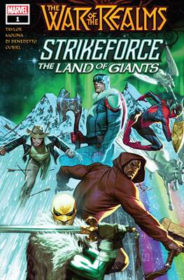 The War of the Realms Strikeforce: The Land of Giants