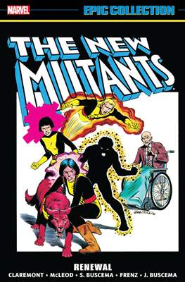 The New Mutants Epic Collection (Softcover 464-512 pp) #1