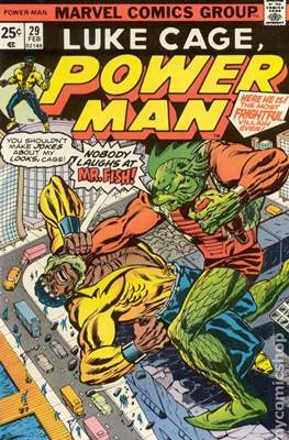 Hero for Hire / Power Man Vol 1 / Power Man and Iron Fist Vol 1 (Comic Book) #29