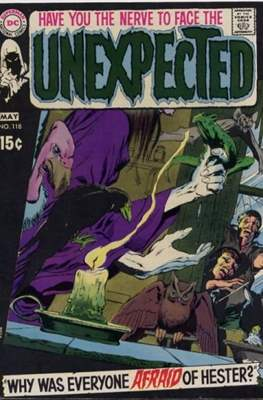 The Unexpected (Comic Book) #118