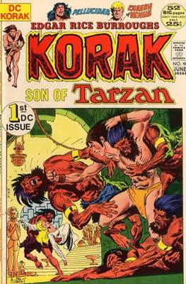 Korak Son of Tarzan / The Tarzan Family (Comic-book. 32 pp) #46