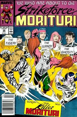 Strikeforce Morituri (Comic-book.) #28