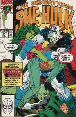 Sensational She-Hulk (1989-1994) (Comic Book) #24