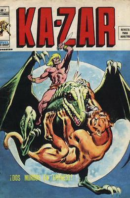 Ka-Zar (1974-1977) (Rústica 40 pp) #7
