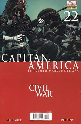 Capitán América Vol. 7 (2005-2011) (Grapa) #22