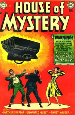 The House of Mystery #9