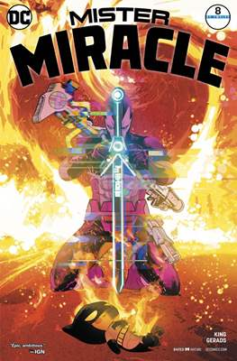 Mister Miracle (Vol. 4 2017- Variant Covers) (Comic Book) #8.1
