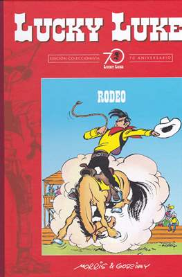 Lucky Luke. Edición coleccionista 70 aniversario (Cartoné con lomo de tela, 56 páginas) #28