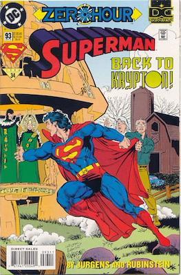 Superman Vol. 2 (1987-2006) (Comic Book) #93