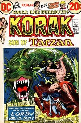 Korak Son of Tarzan / The Tarzan Family (Comic-book. 32 pp) #48