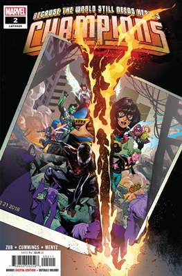 Champions Vol. 3 (2019-) (Comic Book) #2