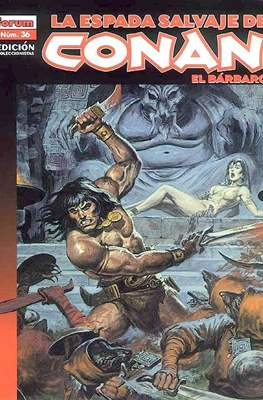 La Espada Salvaje de Conan el Bárbaro. Edición coleccionistas (Rústica 64 pp) #36