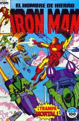 Iron Man Vol. 1 / Marvel Two-in-One: Iron Man & Capitán Marvel (1985-1991) (Grapa, 36-64 pp) #1