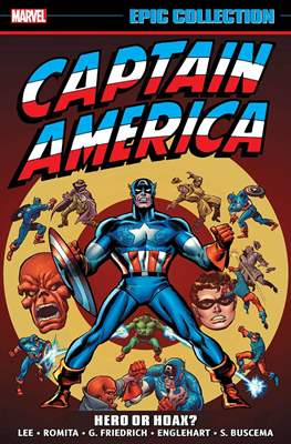 Captain America Epic Collection (Softcover) #4
