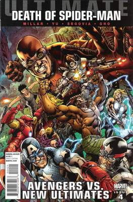Ultimate Avengers vs. New Ultimates Vol. 1 (Variant Covers) (Comic Book) #4
