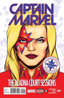 Captain Marvel Vol. 8 #9