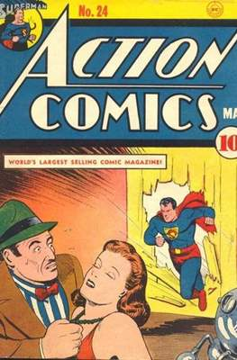 Action Comics Vol. 1 (1938-2011; 2016-) (Comic Book) #24