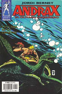 Andrax, el ultimo guerrero #3