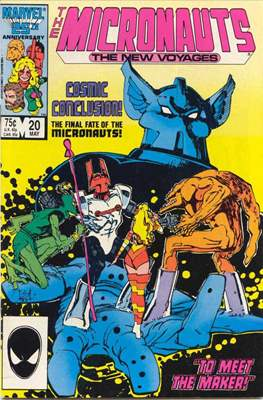 The Micronauts The New Voyages (Comic Book) #20