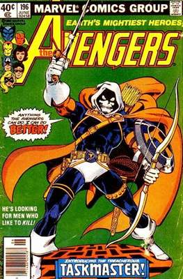 The Avengers Vol. 1 (1963-1996) (Grapa) #196