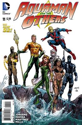 Aquaman and The Others (2014-2015) #11