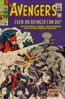 The Avengers Vol. 1 (1963-1996) (Comic Book) #14