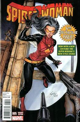 Spider-Woman (Vol. 5 2014-2015 Variant Covers) (Grapa) #5.2