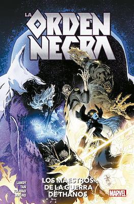 La Orden Negra: Los Maestros de la Guerra de Thanos. 100% Marvel (Rústica 112 pp) #