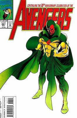 The Avengers Vol. 1 (1963-1996) (Grapa) #367