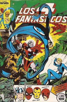 Los 4 Fantásticos Vol. 1 (1983-1994) (Grapa 36-32-24 pp) #25