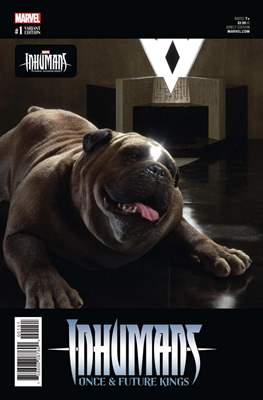 Inhumans - Once & Future Kings (Variant Covers) #1.4