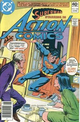 Action Comics Vol. 1 (1938-2011; 2016-) (Comic Book) #508