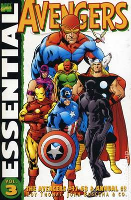 The Essential Avengers (Softcover 1st Edition) #3