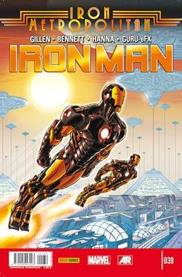 El Invencible Iron Man Vol. 2 (2011-) (Grapa - Rústica) #39